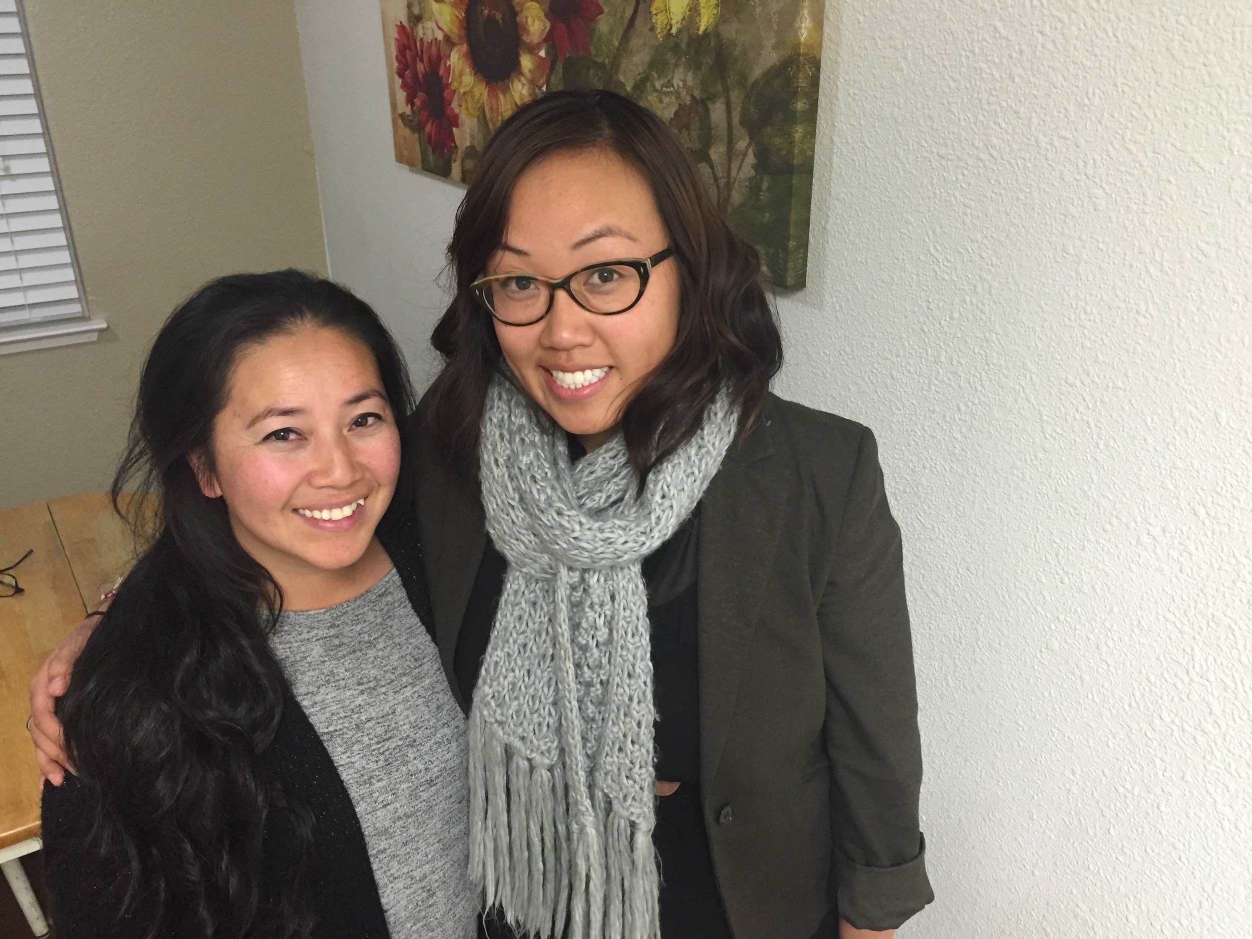 LCAP Advisory Committee Members Phoua Lee (SBA Parent) & Mai Yang Vang (HIP Organizer)