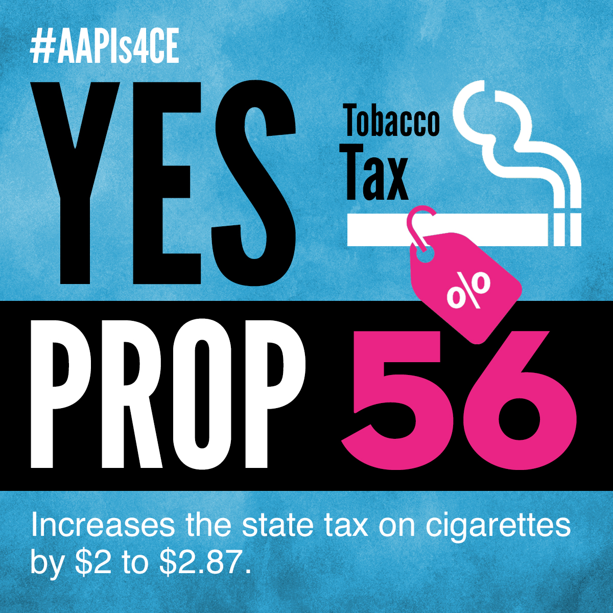 Yes on Proposition 56: Tobacco Tax