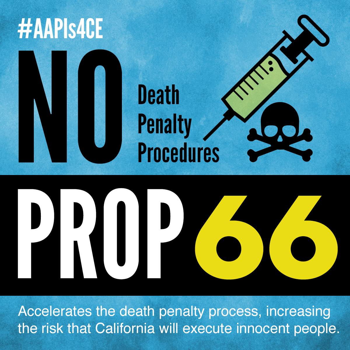 No on Proposition 66: Death Penalty Procedures