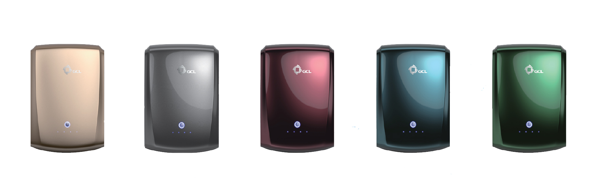 GCL's E-KwBe currently comes in multiple colors of 2.5 kWh and 5.6 kWh models.