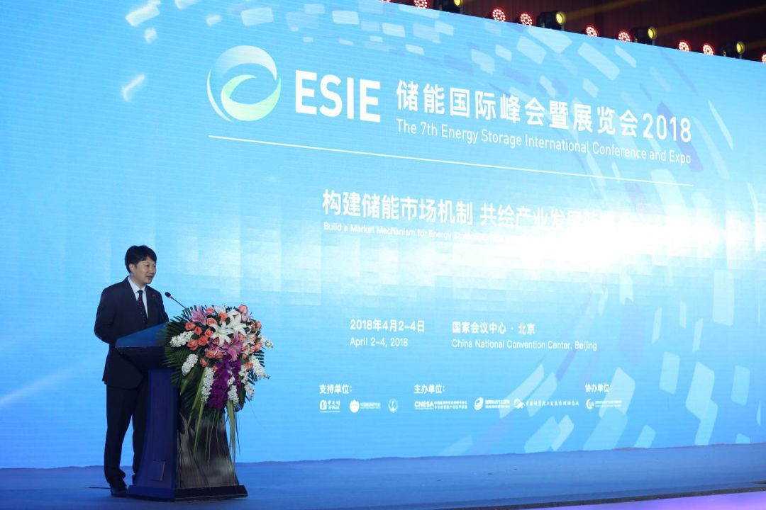 CNESA Chairman and China Energy Research Society Committee Chair Chen Haisheng Delivers a Speech