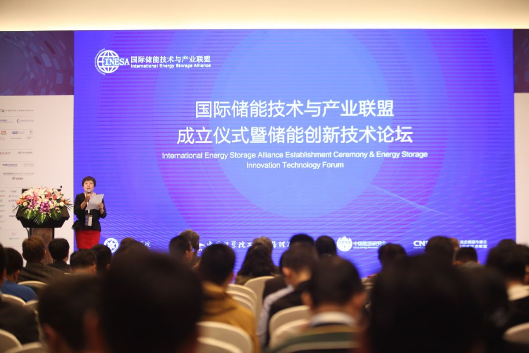 China Energy Storage Alliance Chief Supervisor Zhang Jing Hosts the Foundation Ceremony