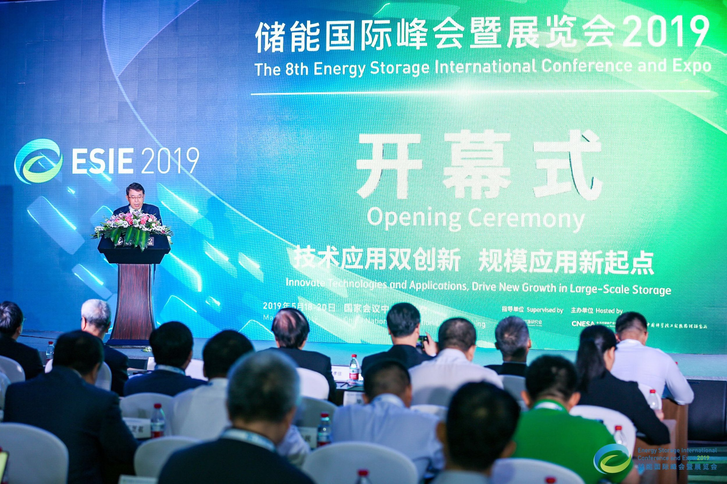 China Energy Research Society Vice Chairman and Former National Energy Administration Assistant Director Shi Yubo Delivers a Speech