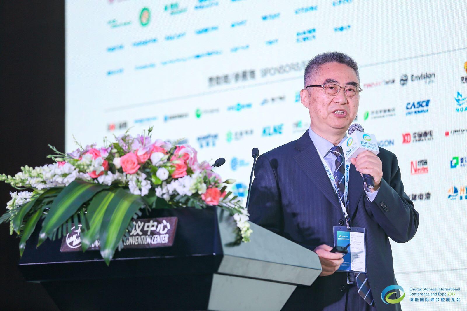 Tsinghua University Department of Electrical Engineering professor Xia Qing Speaks at ESIE 2019