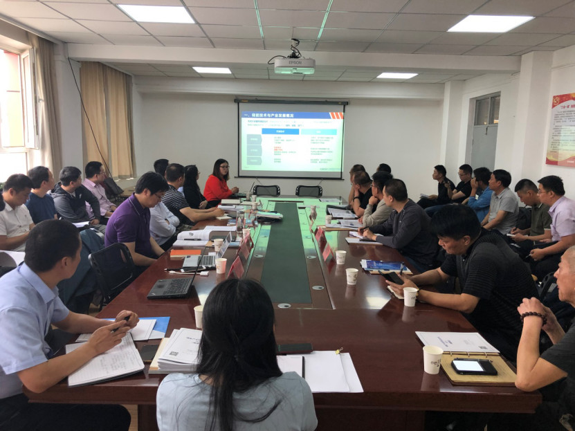 CNESA attends the solar-plus-storage seminar hosted by the Xinjiang Development and Reform Commission