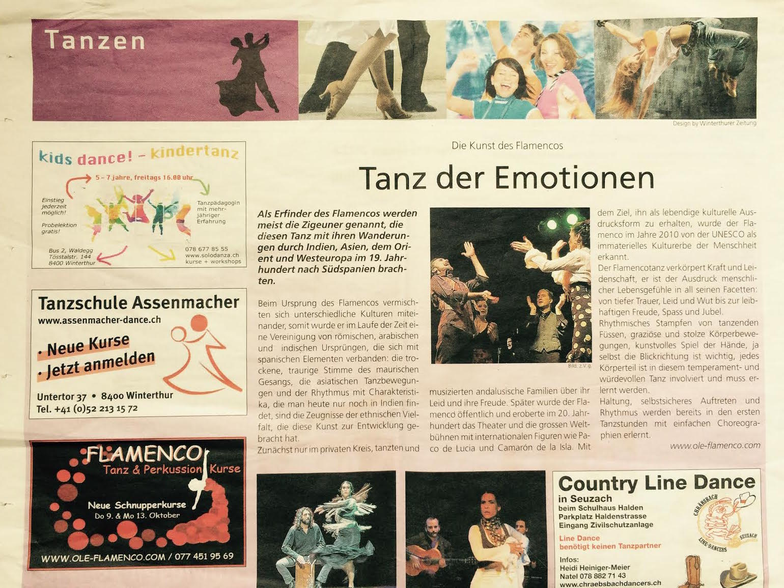 Winterthurer Zeitung - 24. September 2014