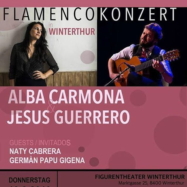 Alba Carmona & Jesús Guerrero live in Concert - Winterthur #figurentheater #winterthur #musik #tanz #flamenco #konzert #donnerstag