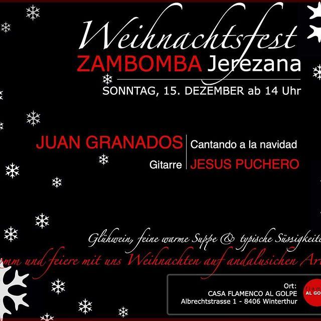 #fiesta #navidad #weihnachten #flamenco #flamencoalgolpe #juangranados