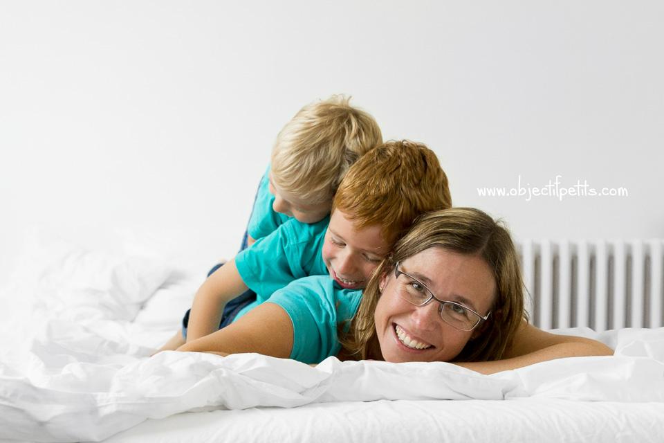 Séance photo famille à Brest lifestyle Objectif Petits Photographe de bébés, enfants et familles à Brest