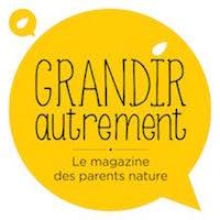 Collaboration d'Objectif Petits, Photographe de bébés, enfants et familles à Brest avec Grandir Autrement, le Magazine des Parents Nature