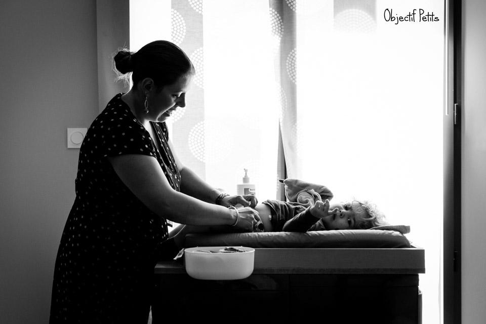 Préparatifs d'un baptême près de Brest sous le soleil, Vanessa HERY Photographe www.objectifpetits.com