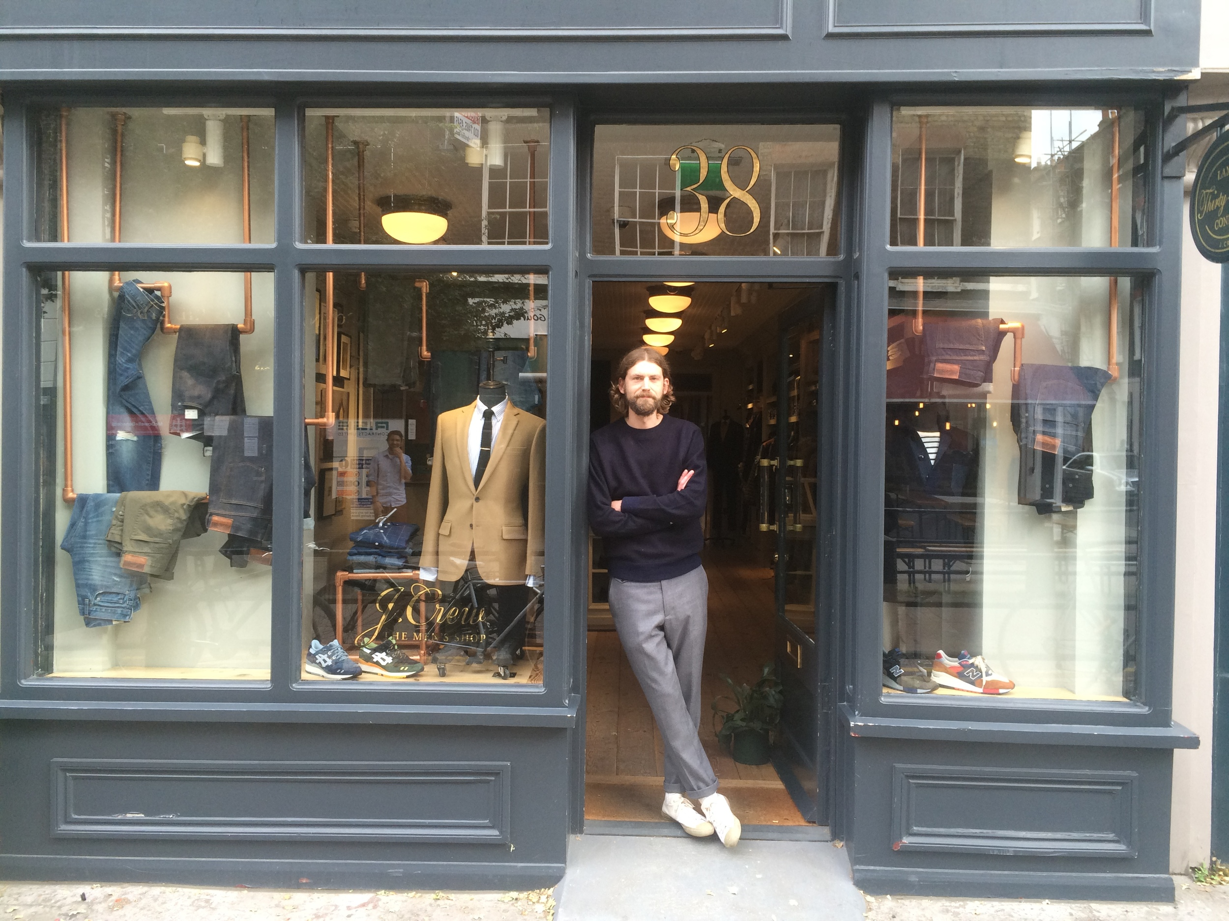 David, J.Crew 38 Lambs Conduit St