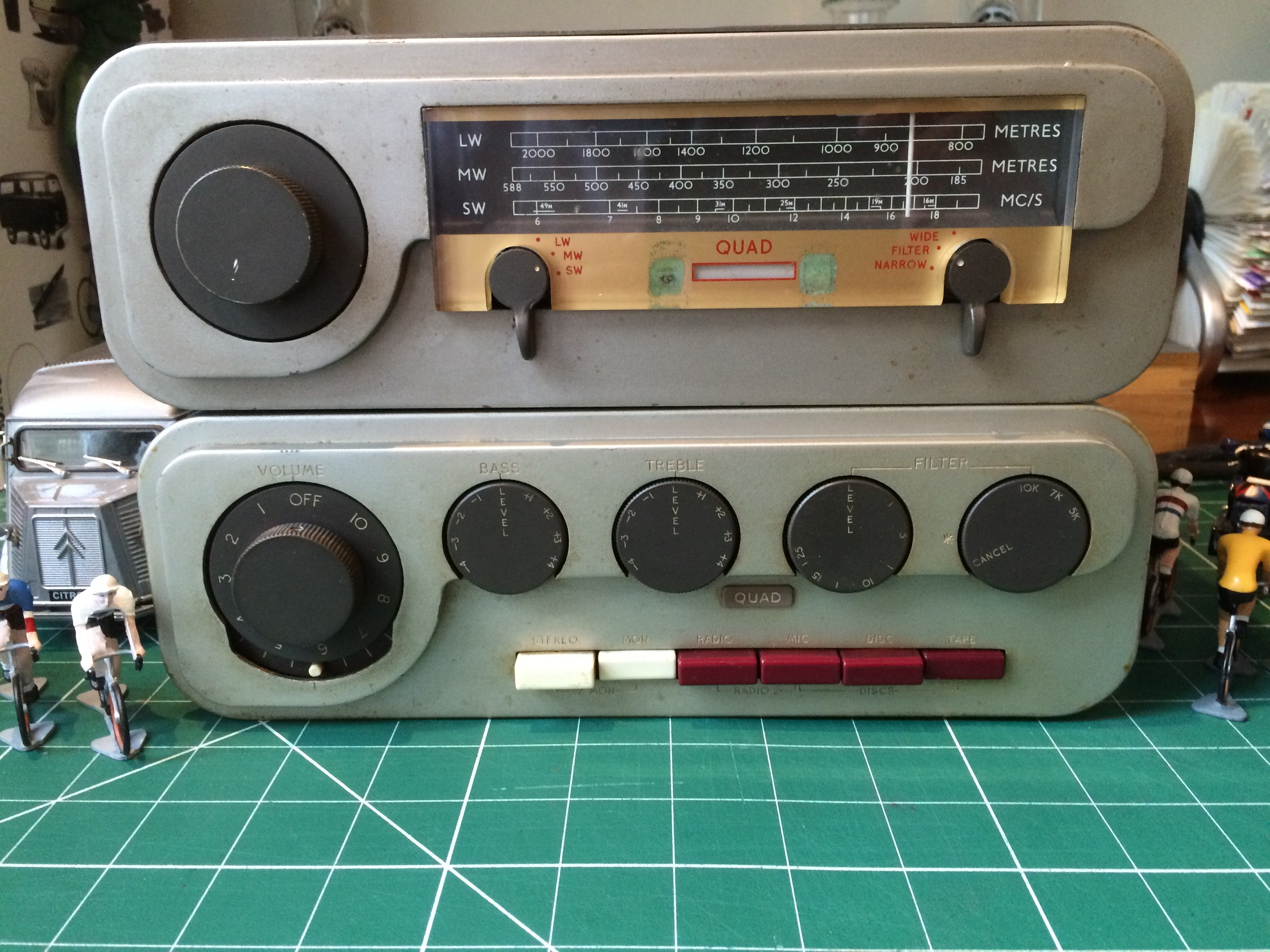 Receiver and Radio (no DAB here)