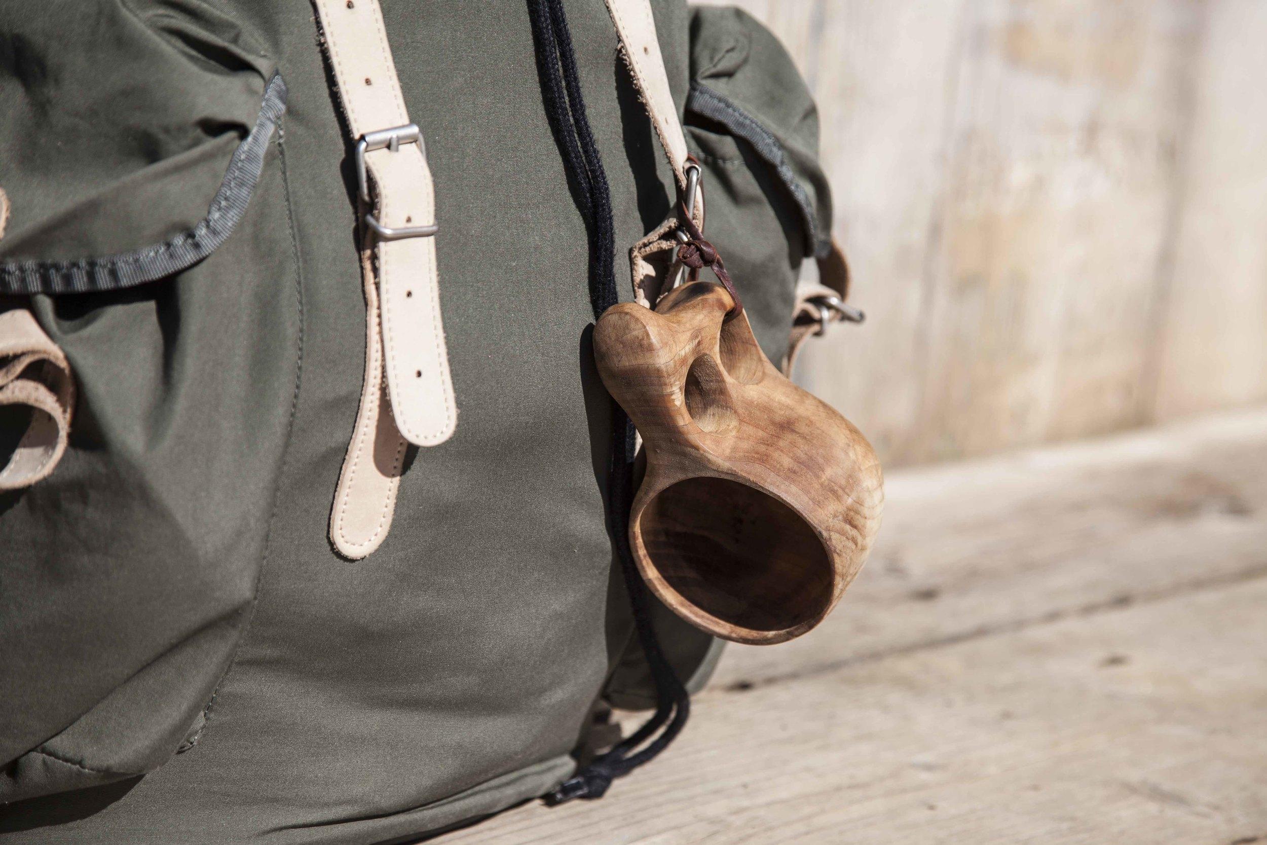 Fjällräven rucksack & Kuksa