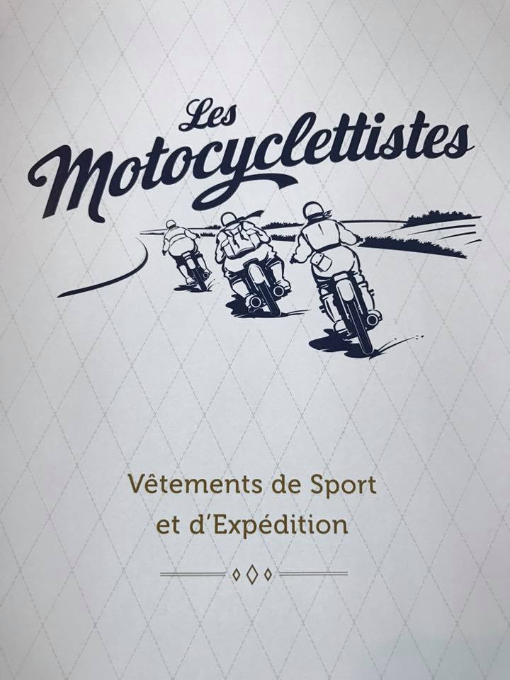 Even the logo and artwork for Les Motocyclettistes is excellent.