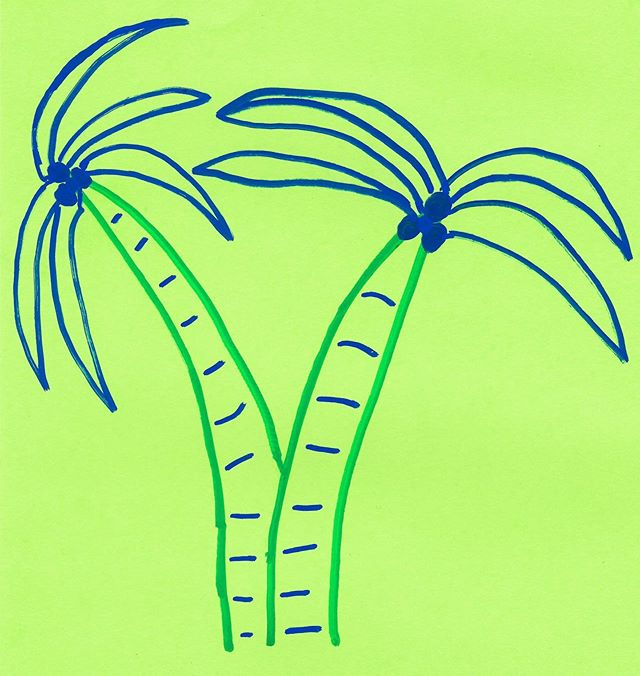 palmtrees #graphicdesign #illustration