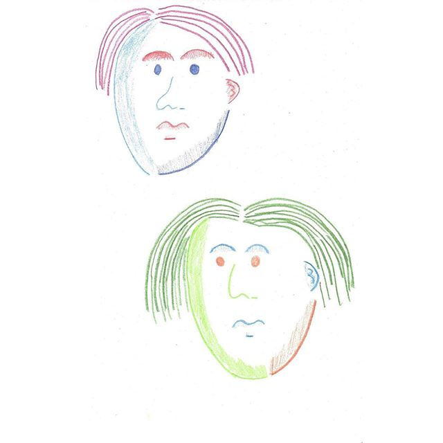sketchbook faces #illustration