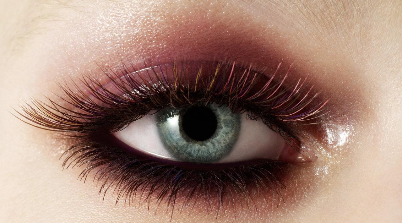 Coloured Eye Lashes