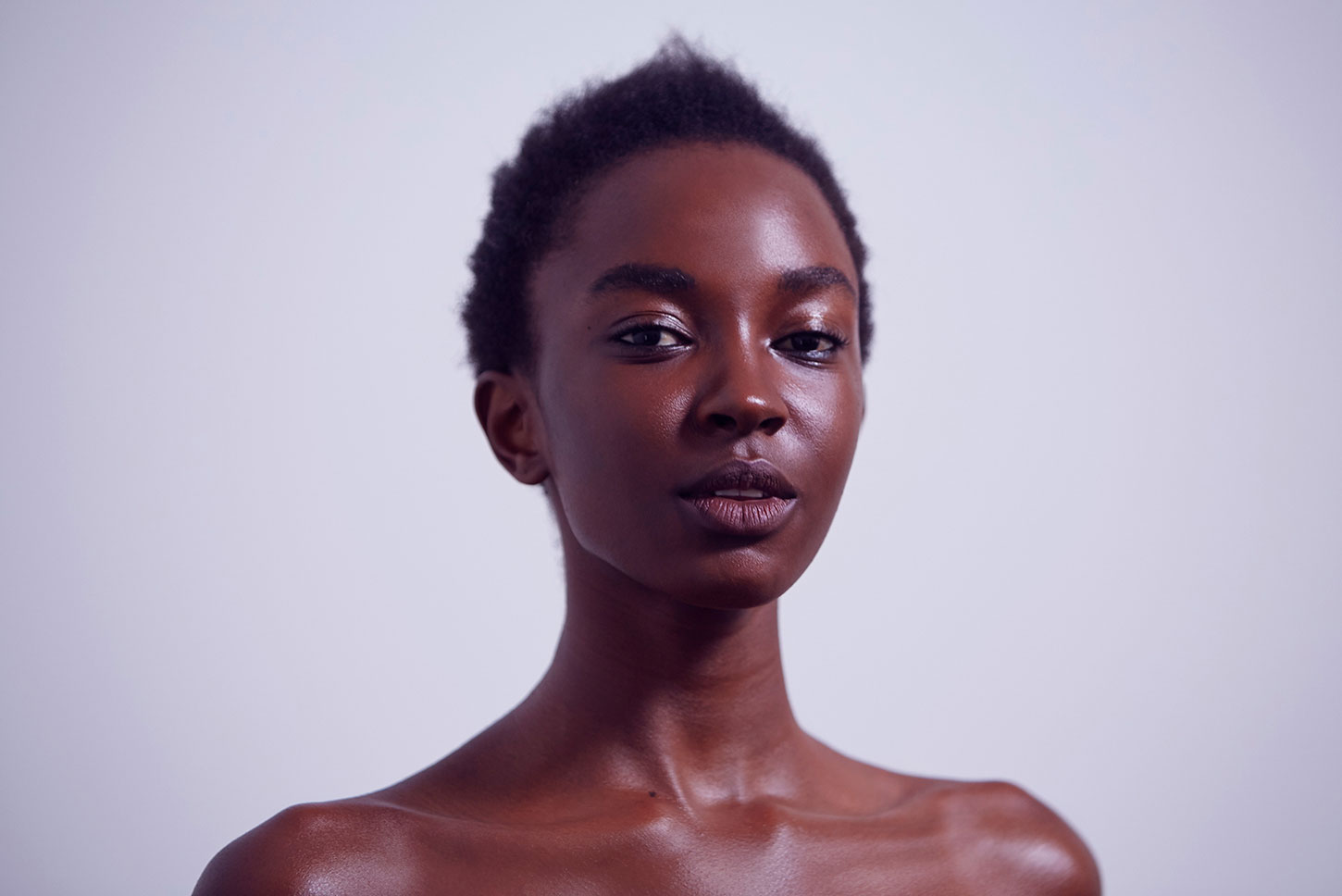 Nicole Atieno  - wearing plant-powered beauty