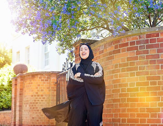 Hello sunshine ☀️ model @urgalsal_  created by us @we.are_london #ramadan #asianmodel #portraitphotography #photooftheday #artdirection #streetphotography