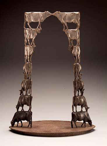Segue   Bronze 36 x 27 x 14.75 inches