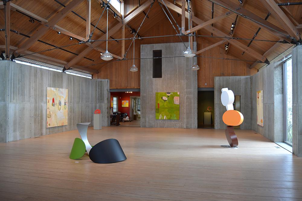 Brad Howe & Gary Komarin at Morrison Gallery 2014