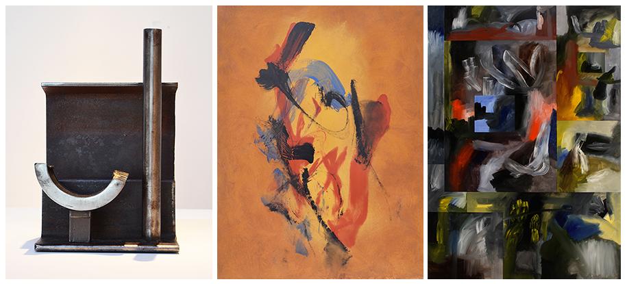 Alexander Liberman, Cleve Gray, Luke Gray at Morrison Gallery