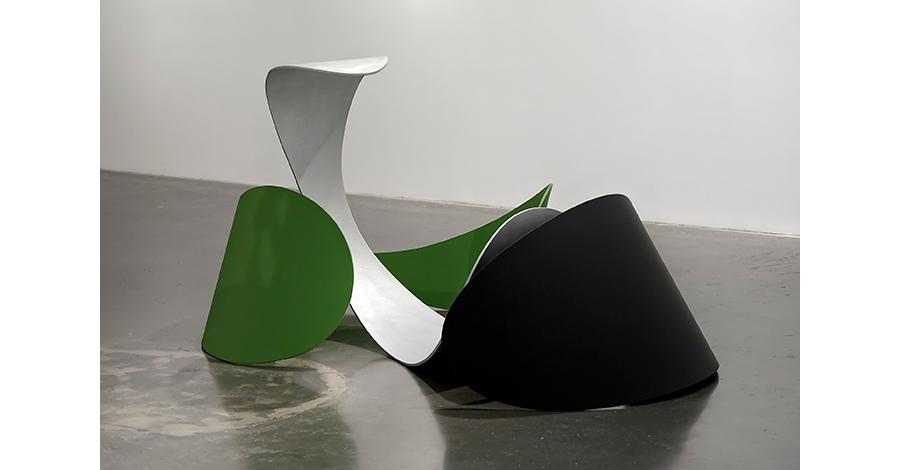 Hortus Siccus,  2010 Aluminum, polyurethane 37 x 49 x 50 inches