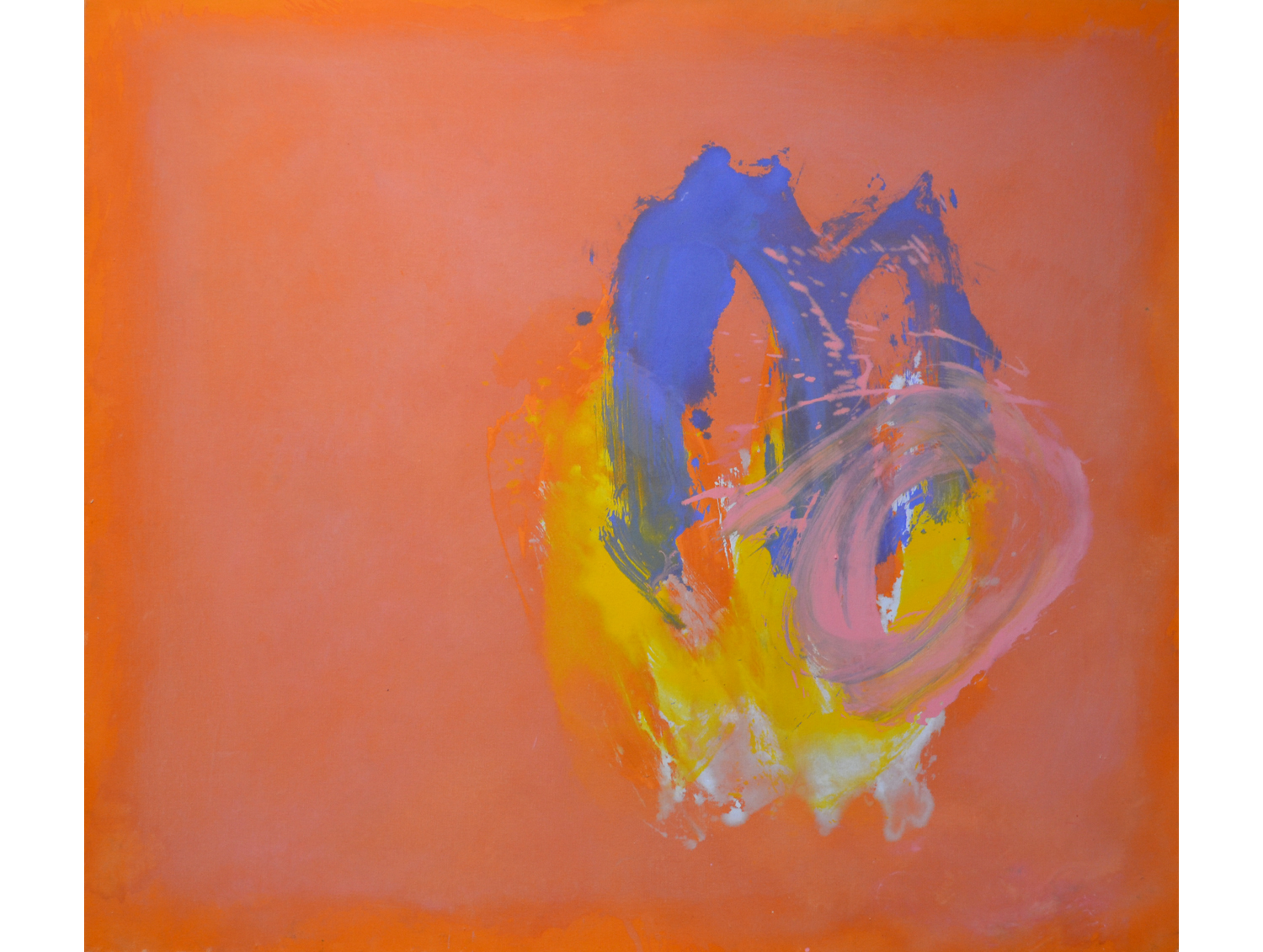 Perne #6,  1978 Acrylic on canvas 57 x 65 inches