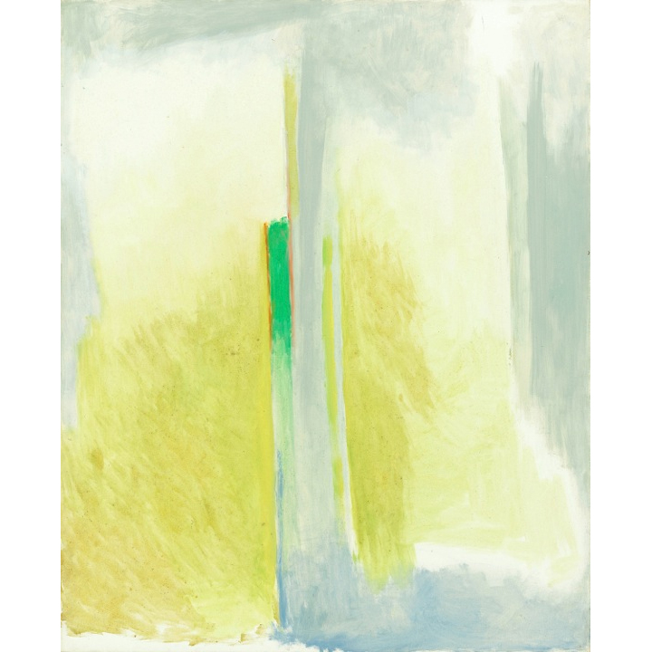 Intuicion,  1999 Oil on canvas 52 x 42 inches