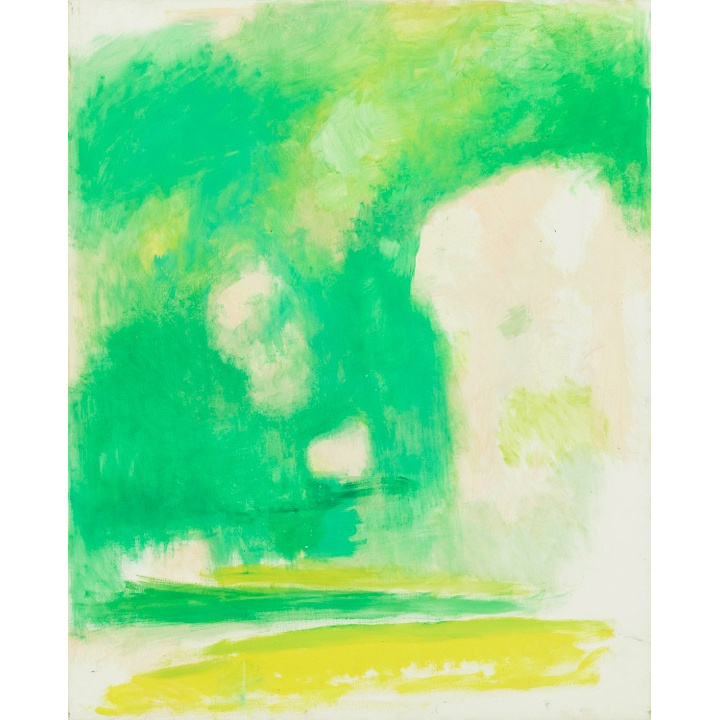 Paisaje 2,  1999 Oil on canvas 52 x 42 inches