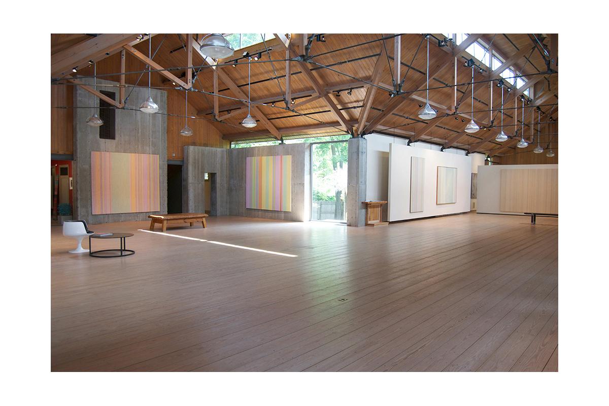GENE DAVIS AT MORRISON GALLERY, 2015 Installation view