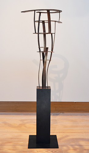 After Rome  (model), 2011 Bronze, edition of 3 70 x 21 x 17 inches