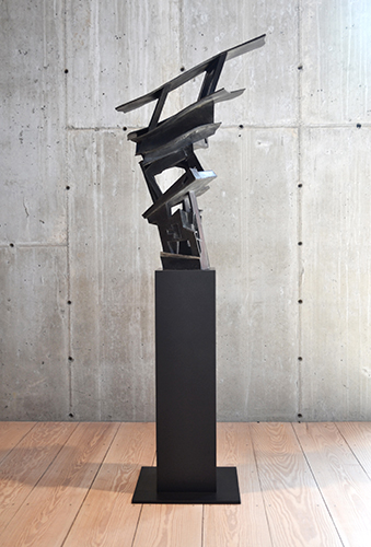 Rush Hour,  2012 Bronze, edition of 3 69.5 x 24 x 17 inches