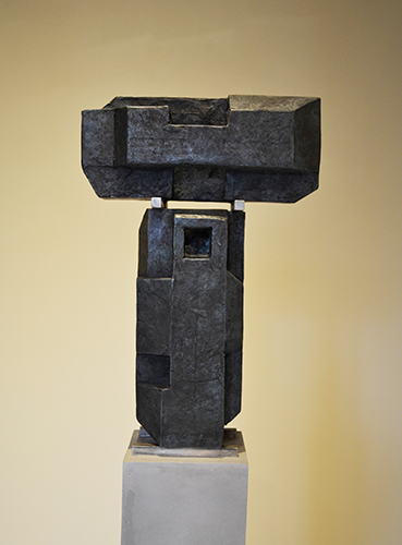 Twins 2, 2008  Bronze, edition of 3 52 x 10 x 4.25 inches (with base)