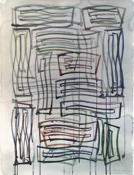 Untitled,  2006 Watercolor on paper 30 x 23 inches