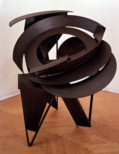 Halo of Absurdity,  1988 Steel, unique 80 x 58 x 47 inches