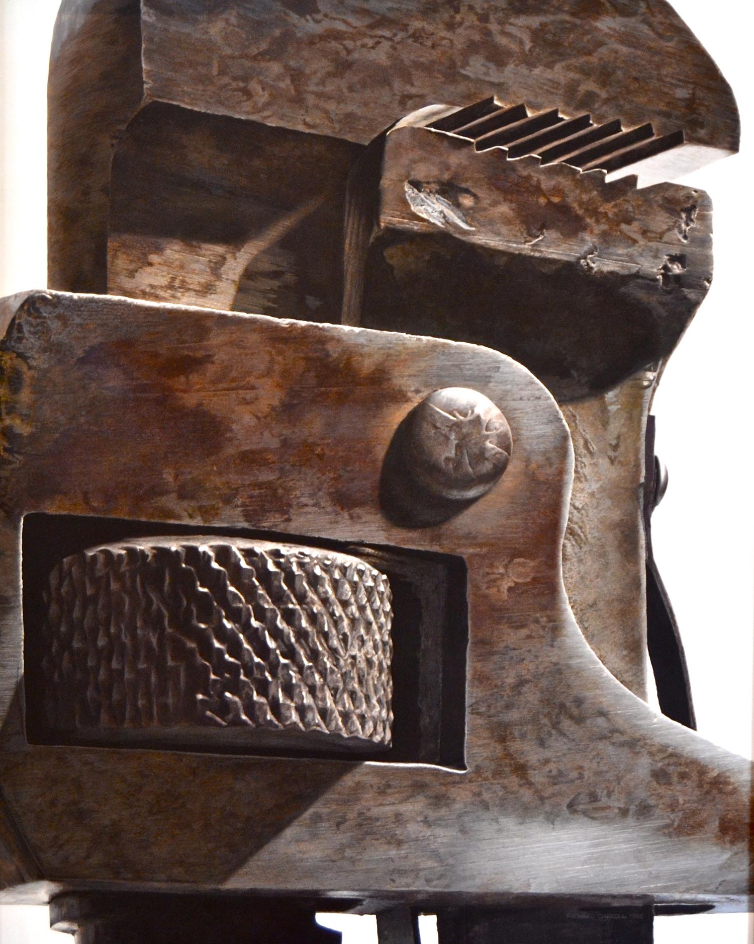 Dark Stilson , 1996 Egg tempera on panel 60 x 48 inches