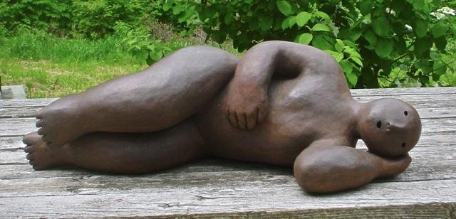 recliner  bronze 26.5 x 8.5 x 12 inches