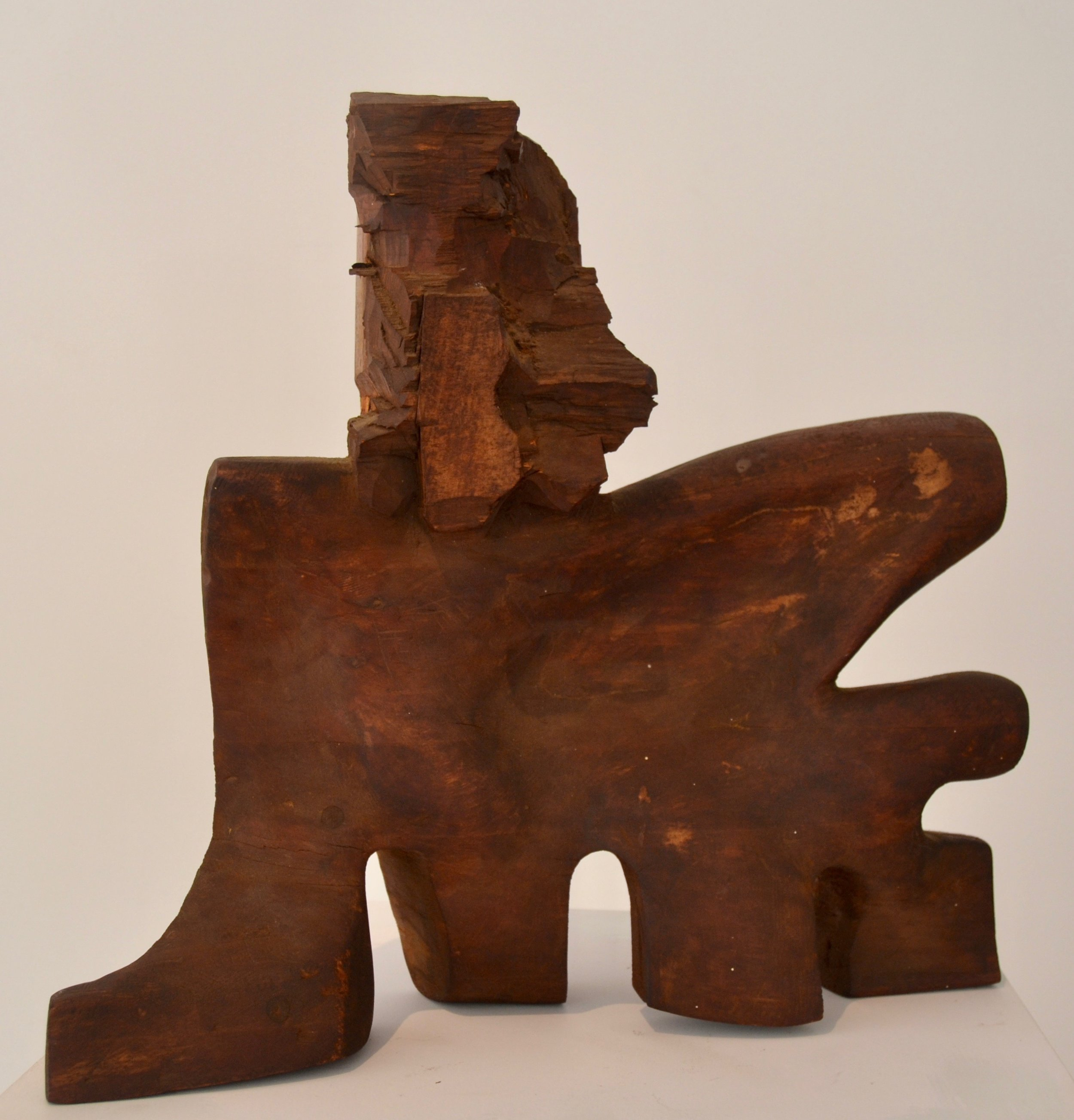 Untitled,  1956 Wood 16 x 17 x 4.5 inches