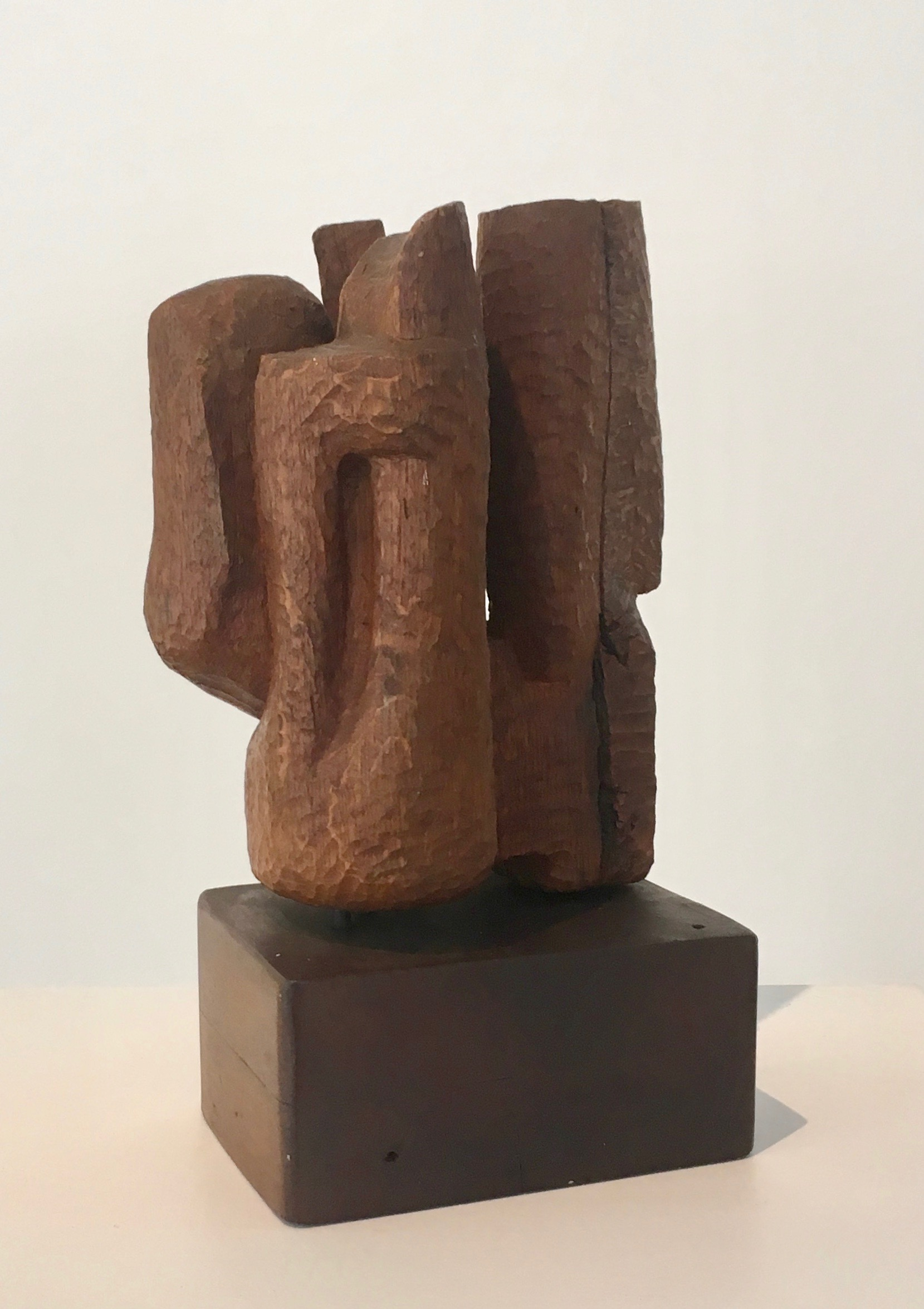 Untitled , 1956 Wood 13 x 6.5 x 5.5 inches