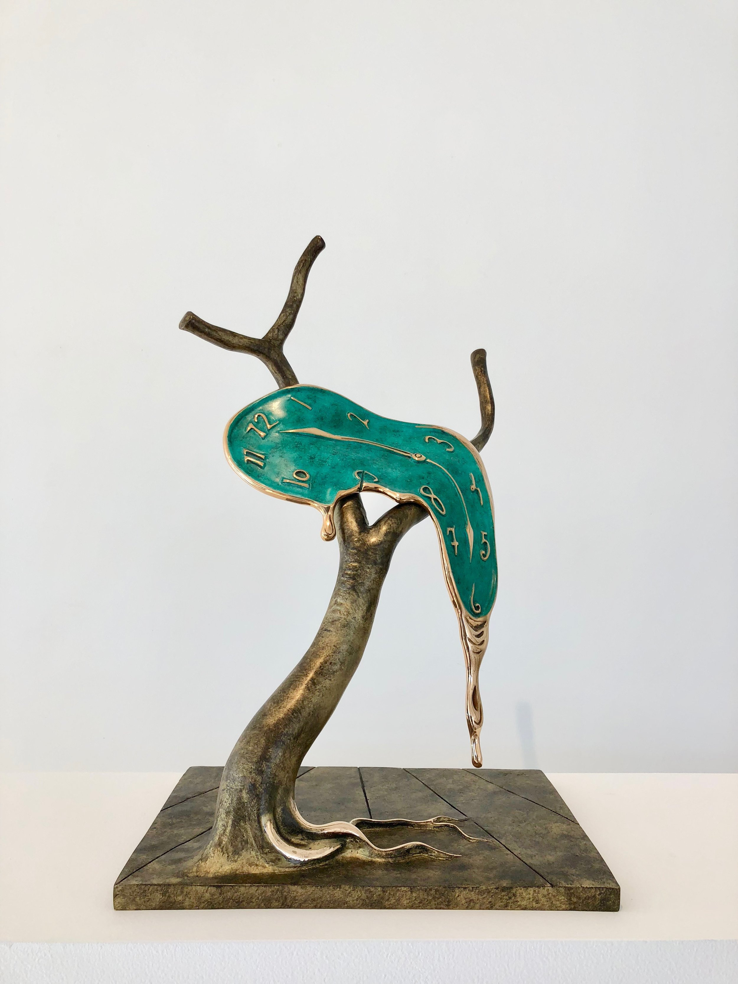 Profile of Time , 1977-1984 Bronze 20 10/127h x 13 49/127w x 9 82/127d inches