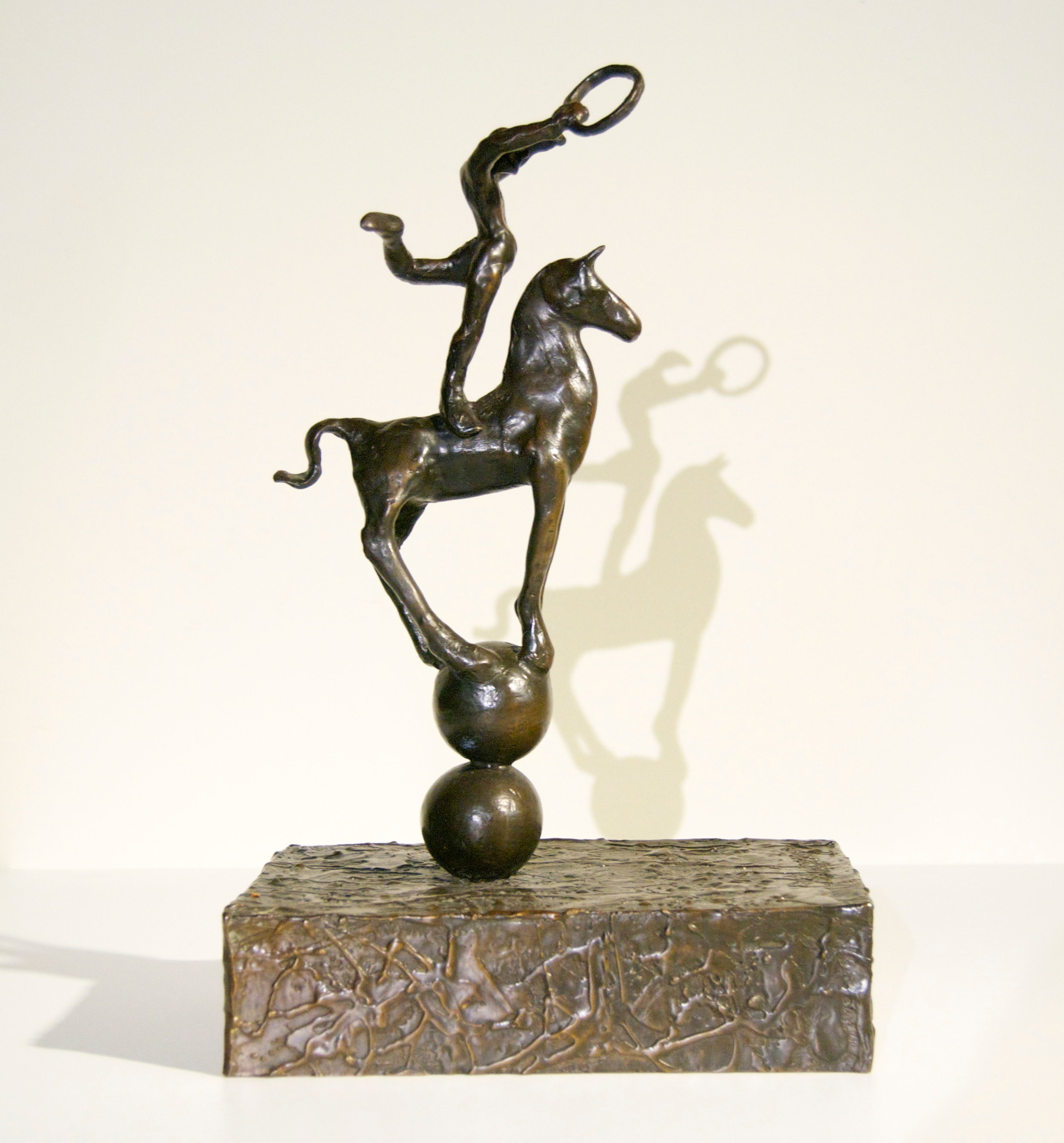 From the In Search of Harmony series Bronze, Unique  16 ½ x 10 ½ x 7 inches