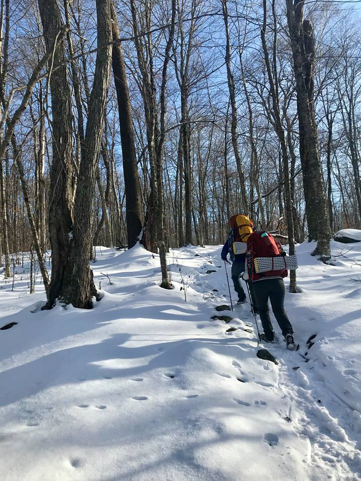 Backpacking is a great way to see the Catskills. Plan your trip with a  2018 Trail Conference map  or by visiting the CIC.