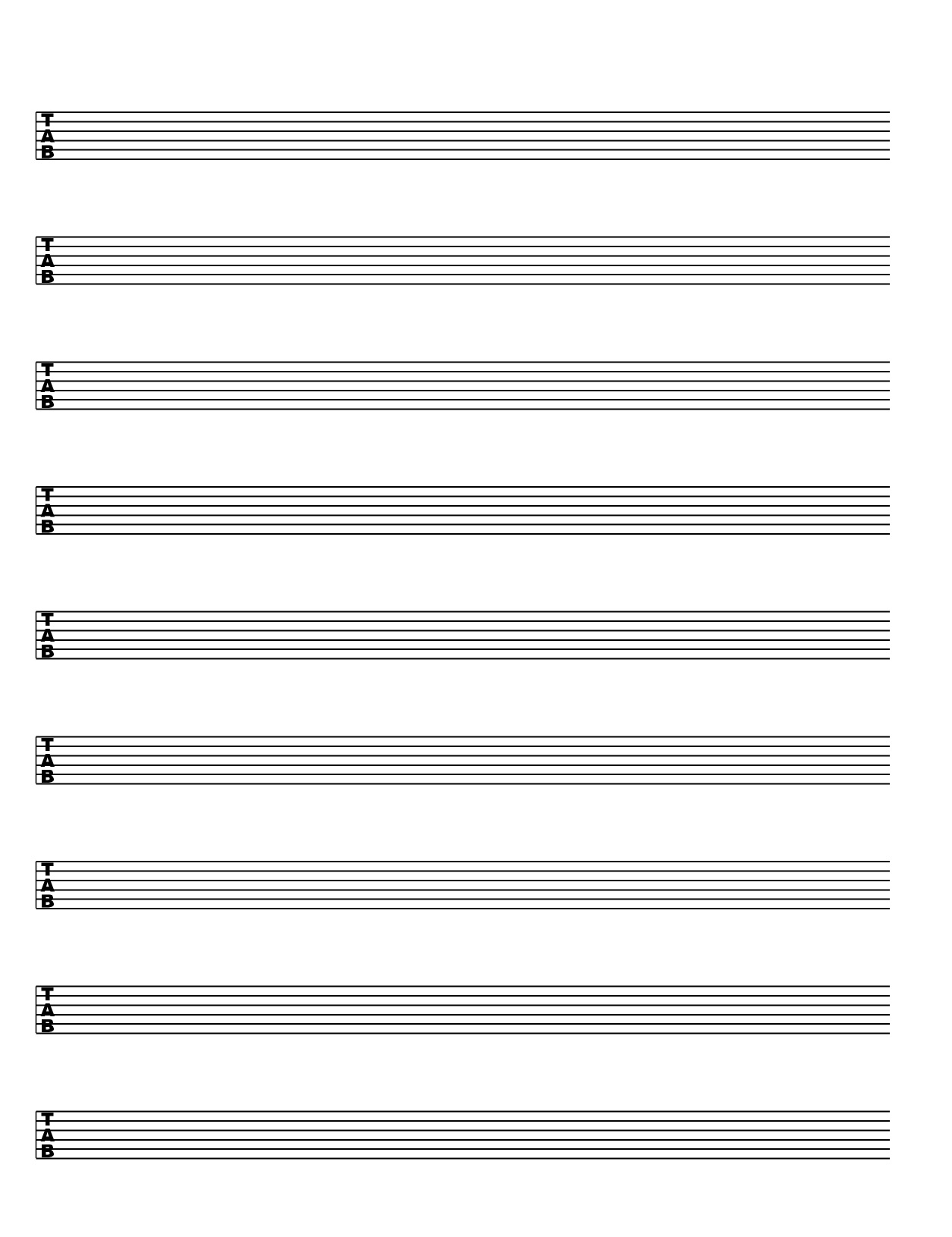 score  u0026 tablature free template download  pdf
