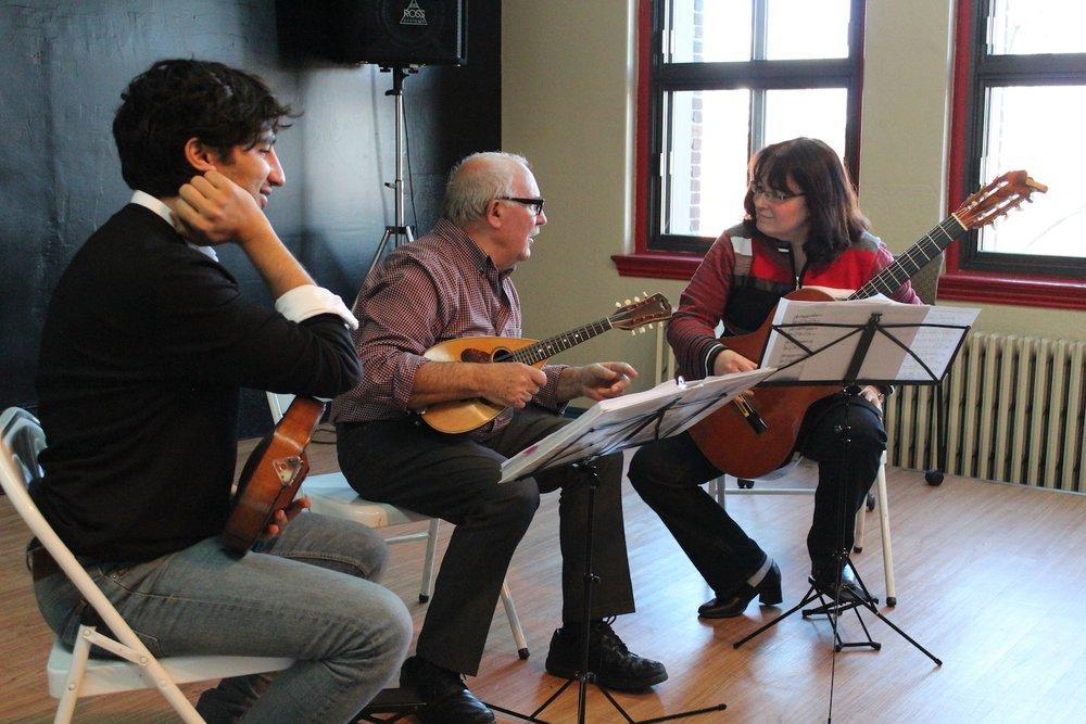 Avi Avital, Diego Pasquale & Nathalie Lachance