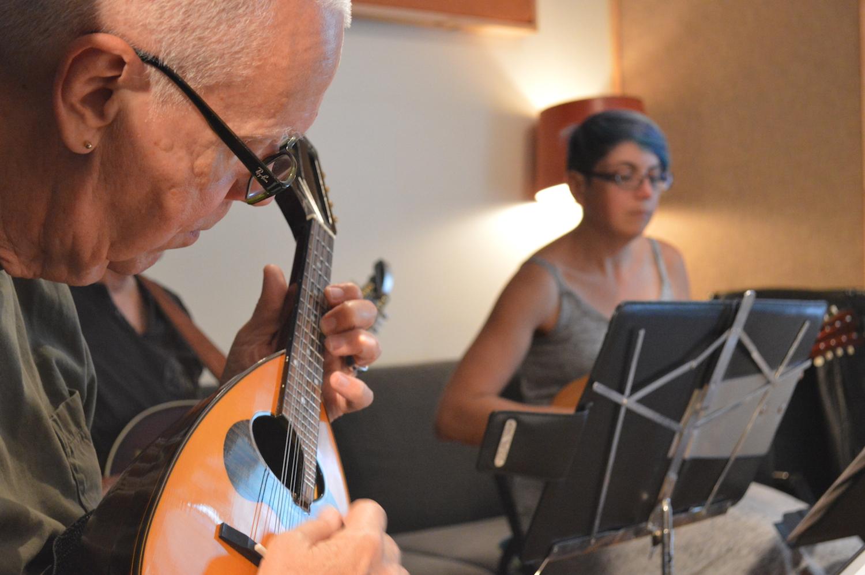 Atelier d'ensemble de mandolines