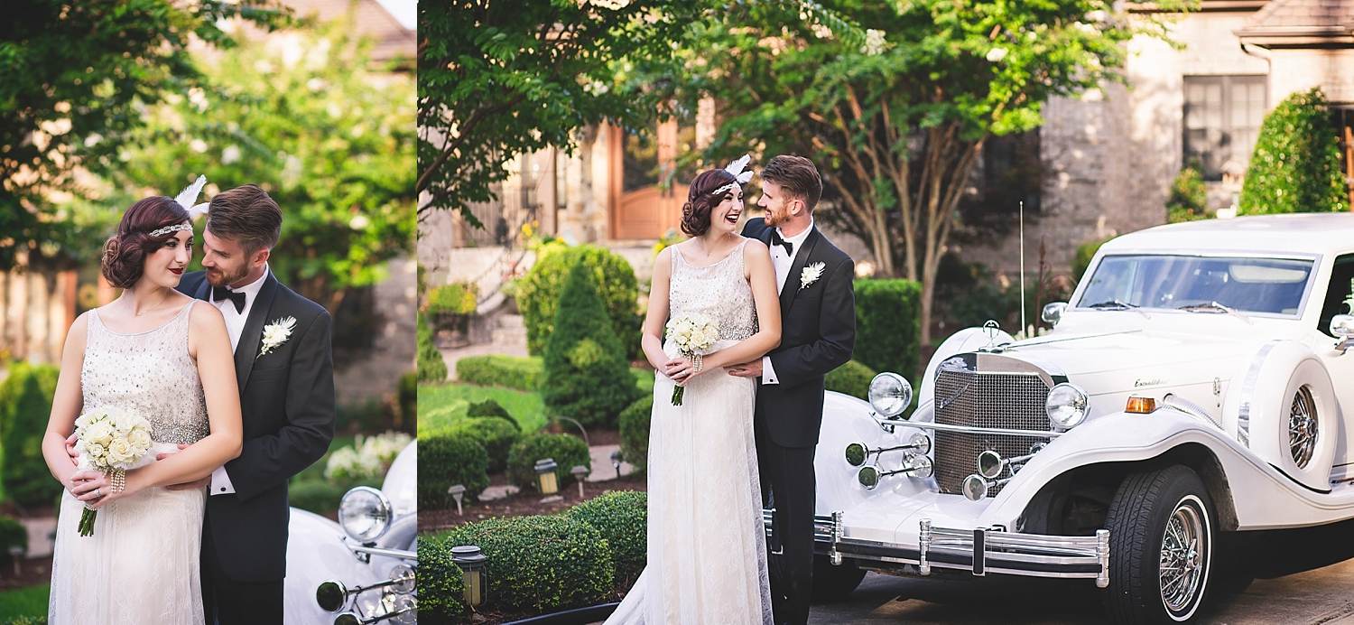 Some of Liz's awesome work on our 1920's styled shoot!