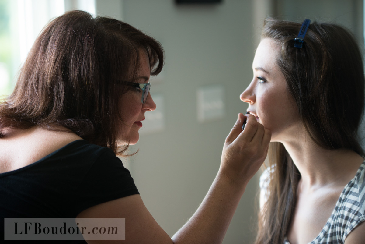 Photo of Dawn in action by Christina Wesley of  lfboudoir.com