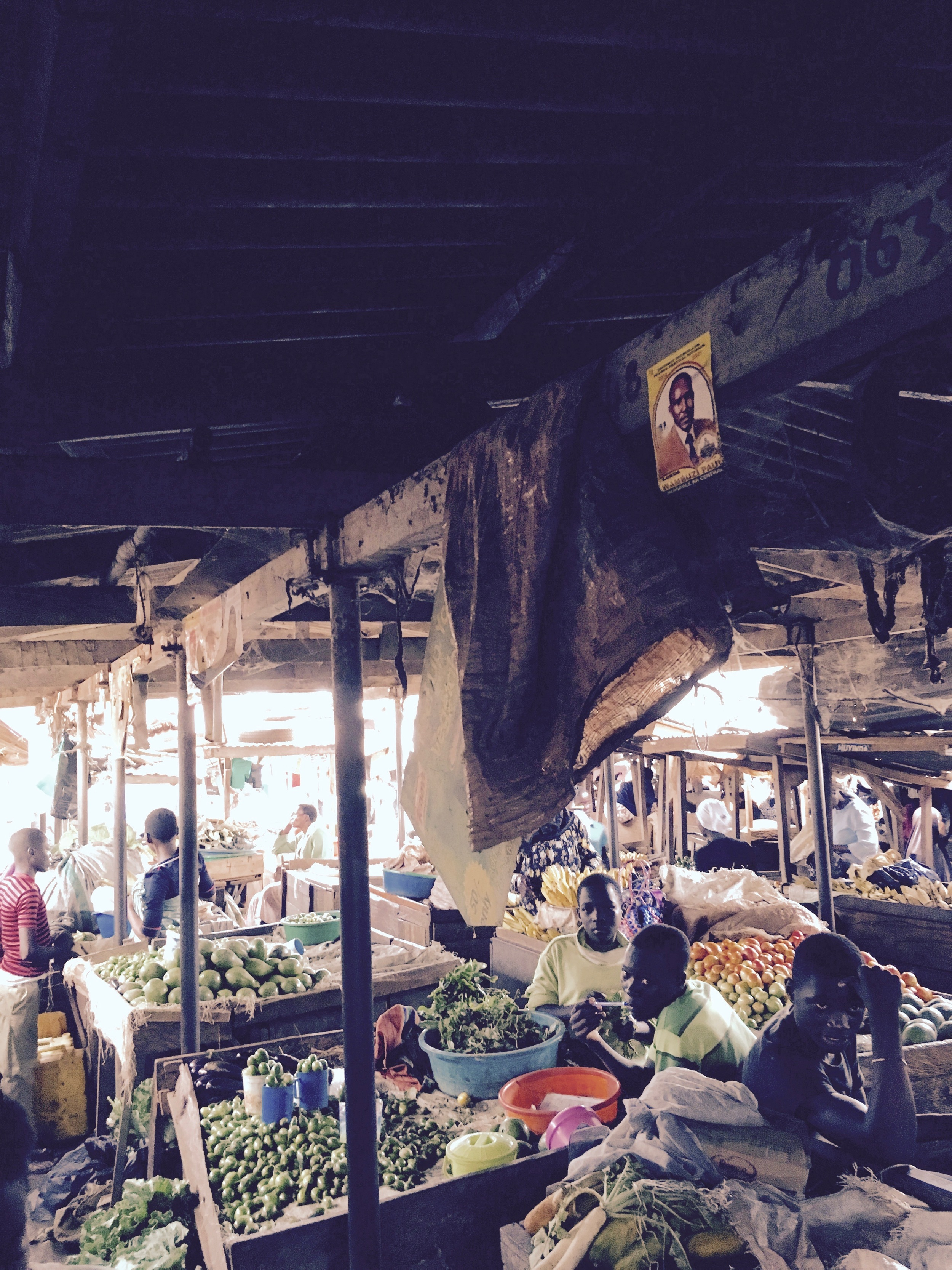 This was the market area! I have never seen so many vegetables in one area at one time :O